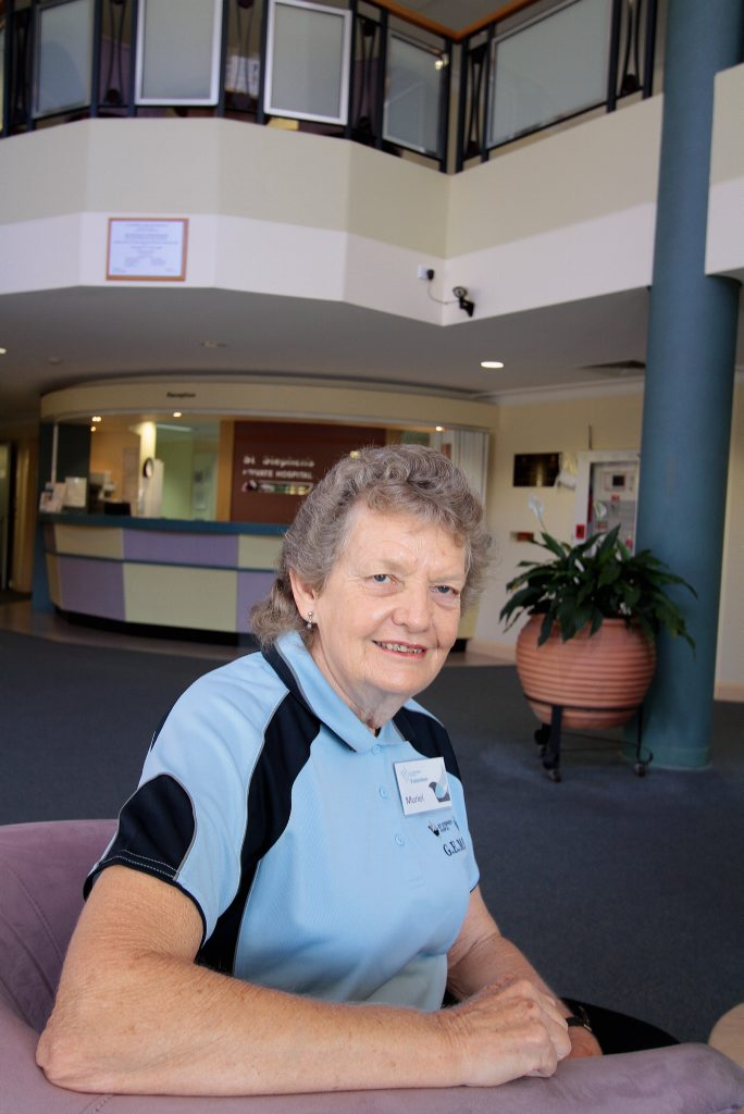 St Stephens volunteer Muriel Wroe enjoys the opportunity to give back to the community.
