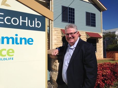 Condamine Alliance CEO Phil McCullough at the new EcoHub.