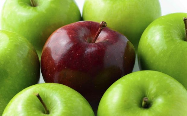 APPLES WITH APPLES: The big supermarkets don't always offer the lowest produce prices.