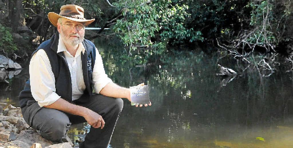 Steve Burgess by the Mary River at Kandanga.