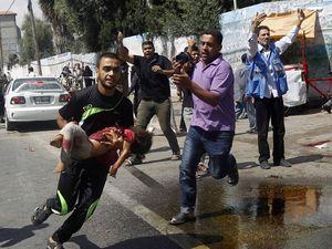 UN: Israeli attack on school 'a criminal act'