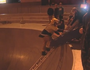 Injured skateboarder winched from bowl