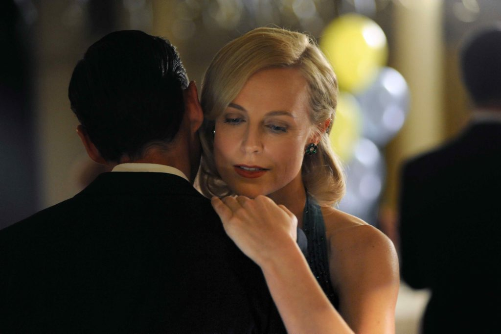 Marta Dusseldorp in a scene from the TV series A Place To Call Home. Supplied by Channel 7.