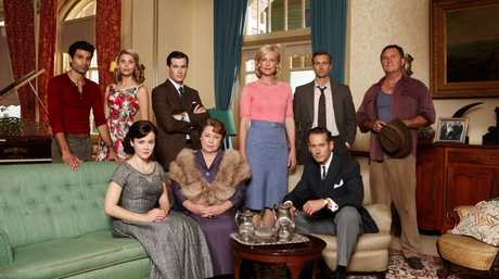 The cast of the TV series A Place To Call Home.
