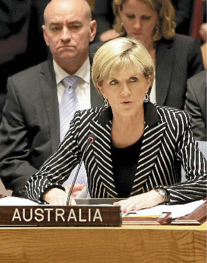Julie Bishop... would like to see more women in Cabinet.