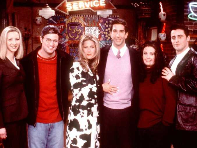 You're most popular in your 29th year, a study has claimed (pictured: the cast of Friends)