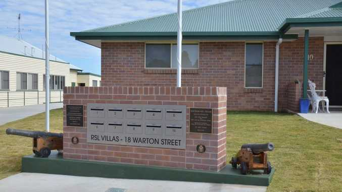 RSL VILLAS: Six new independent living units in Gayndah will house ex-servicemen and women. The entry to the complex will be named after Sapper Jacob