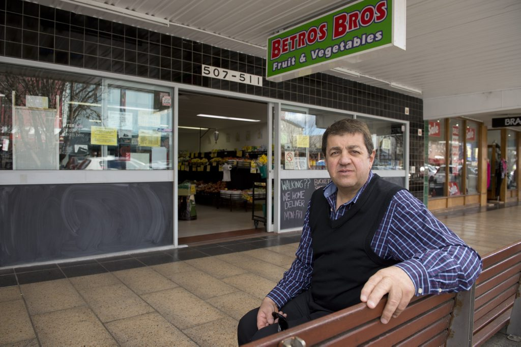 Bevan Betros talks about the amalgamation of the two Toowoomba Betros Bros stores which will see the closure of the Ruthven St store.