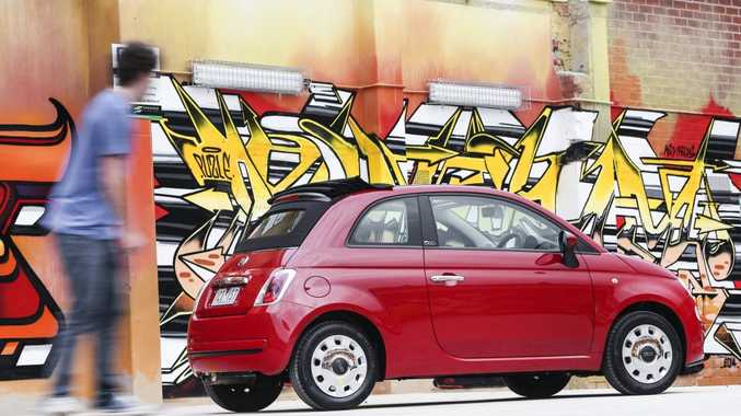 The new Fiat 500.