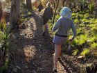 Walking on Mt Archer