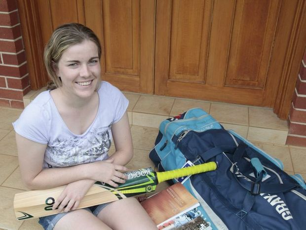 Georgia Redmayne has been selected for the NSW women's cricket squad, the Breakers.