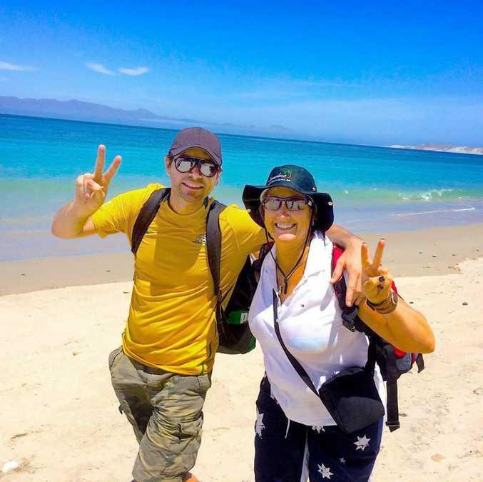 Michael Johns with Sonya Ottaway.