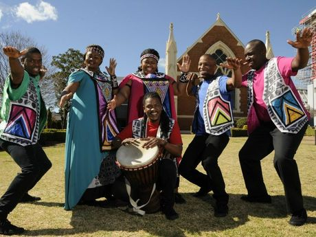 The Soweto Gospel Choir.