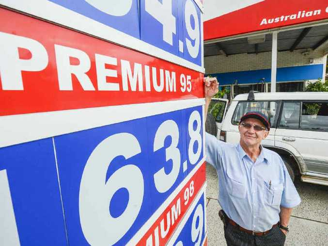 FRAUD COSTS: Owner of Liberty Ryan Street Service Station Robert Cook knows how much dishonesty can cost business.