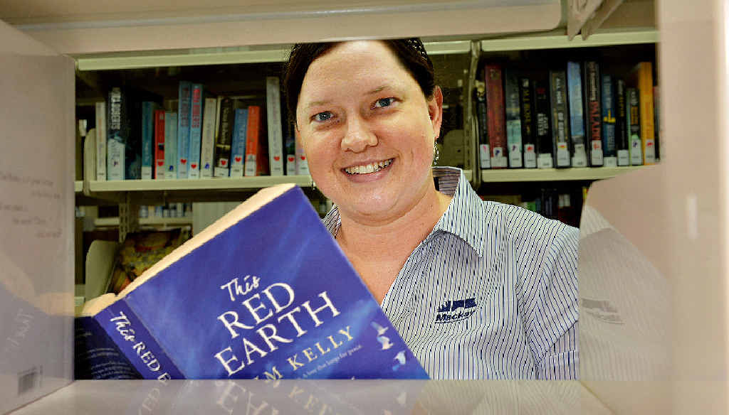 Young adult librarian Jaala Beauchamp catches up on the popular reads at the Mackay Regional Council City Library. She says readers aren't shying away from hard-hitting issues.
