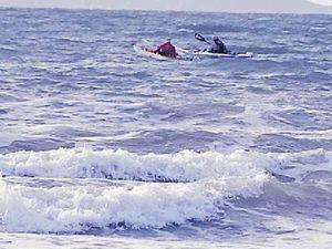 Kayaks depart Yeppoon on 300km paddle challenge