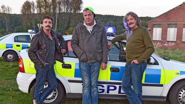 Richard Hammond, Jeremy Clarkson and James May co-host Top Gear. Photo: BBC