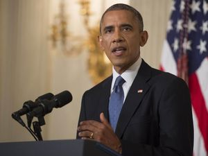 Obama sends in bombs to stop 'genocide' in Iraq