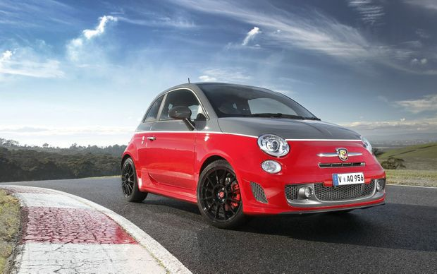 The new Abarth 595.
