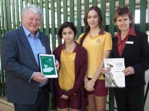 Biggenden school runners up in Queensland Anzac Day Awards
