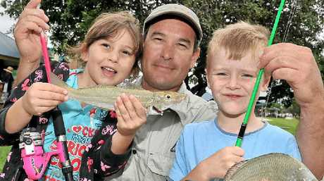 TAKE THE KIDS FISHING: The Caloundra Power Boat Club has a special day for the family.