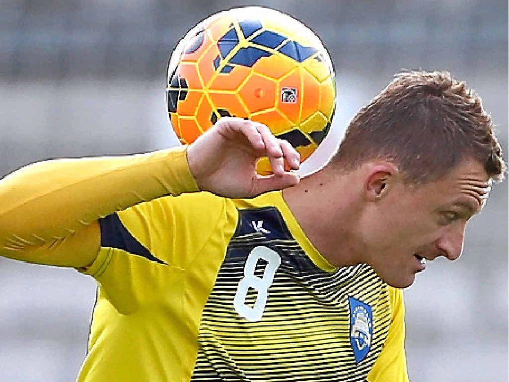 Besart Berisha prepares to face Juventus.