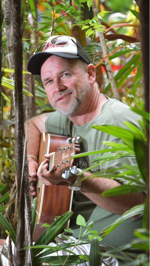 NEXT BIG ADVENTURE: Oz Balydon is a musician who raises money for vulnerable children through his extreme gigs. His next gig is in the Amazon.