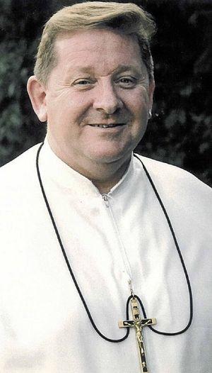 FACING COURT: Br Peter Pemble.
