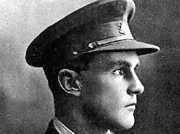 IN PROFILE: Former Lismore banker Hugh Gilmore Maegraith after enlisting during the First World War.