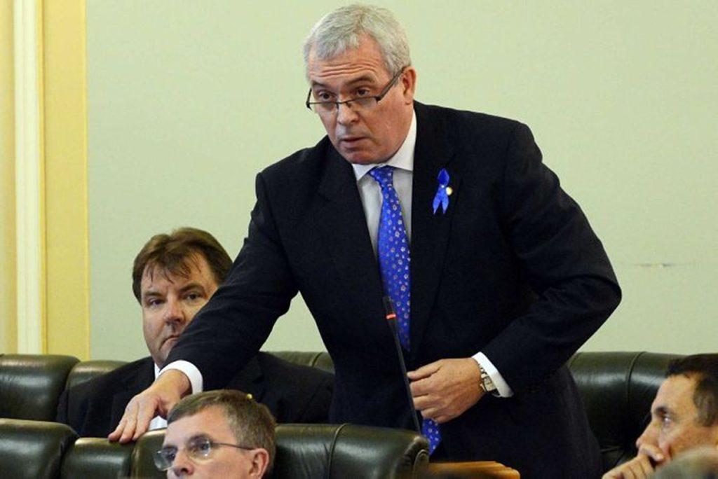 Former Palmer United Party MP Dr Alex Douglas