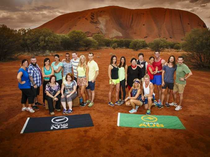 New Zealand and Australian teams competing in the 2014 series of The Amazing Race Australia. Supplied by Channel 7.