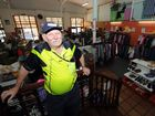 Chris Wheeler has been volunteering at the St Vincents' store in Maryborough for three years.