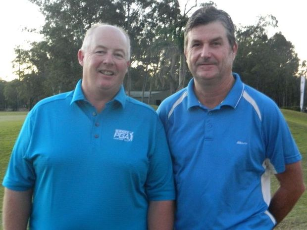 Peter Hayes and Tim Elliott were declared joint winners of this year's Fraser Coast Classic at Hervey Bay Golf and Country Club.