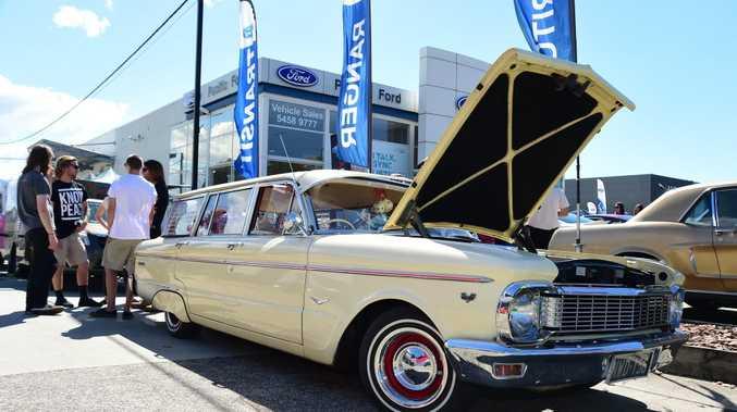 HAPPY TRAVELS: Ford Falcon Wagon.