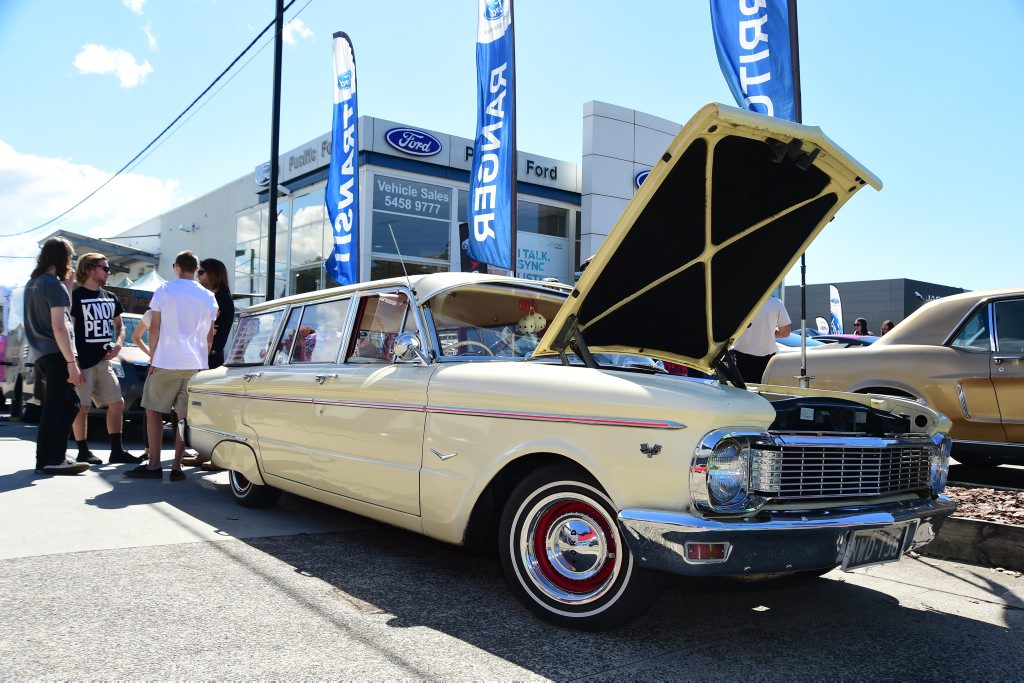 Early Falcon wagon at the Pacific Ford & FPV Total Performance Show, Maroochydore. Photo: Iain Curry / Sunshine Coast Daily