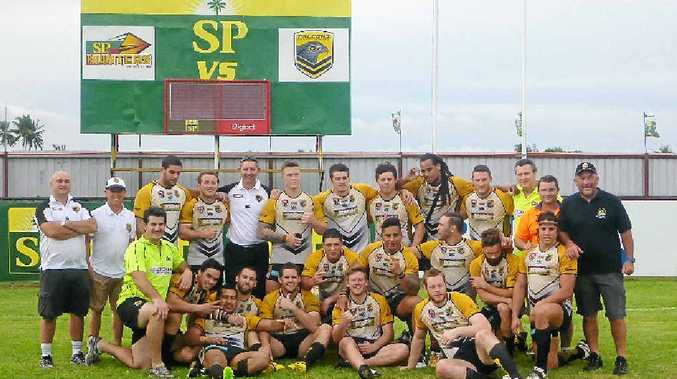 EMOTIONAL TRIP: The Sunshine Coast Falcons were affected by their trip to Papua New Guinea last month.