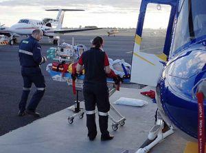 Teen airlifted after quad bike crash