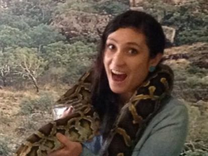 Warriena 'Rrie' Wright enjoyed getting friendly with some Australian wildlife, including a giant python, at Australia Zoo during her Queensland trip. She would later fall to her death from a Surfers Paradise balcony.