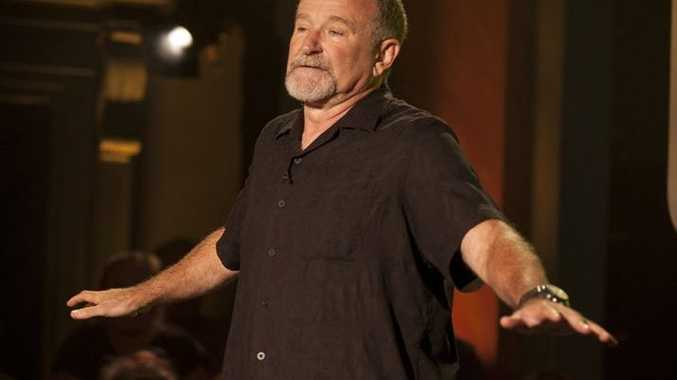 Stand-up comedian Robin Williams stars in the TV series Set List. Supplied by ABC TV publicity website. Please credit photo to Dan Dion.