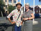 Village Well director, Gilbert Rochecouste with Rockhampton Region mayor, Margaret Strelow Photo Christine McKee / The Morning Bulletin