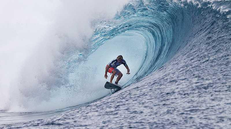 Defending event winner Adrian Buchan (AUS) claimed the 2013 Billabong Pro Tahiti over 11-time ASP World Champion and four-time Billabong Pro winner Kelly Slater (USA).