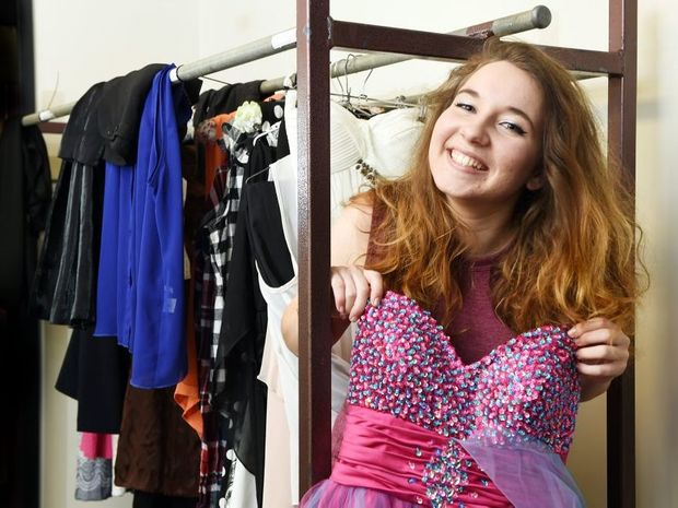 Kayla Ryan will perform in 34 pieces at the Maryborough Eisteddfod and has a dressing room full of costume changes to show for it.