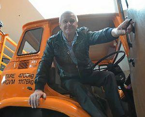 PROUD OF MACKS: HCVAQ vice-president Graham Kircher.