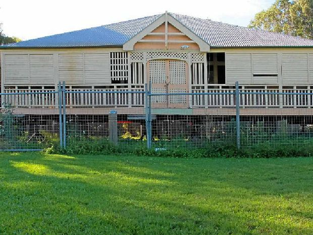 GOING HOME: Tait house currently sits on a vacant block on Eumundi-Noosa Road.