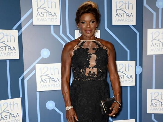 Marcia Hines arrives at the 12th annual ASTRA Awards in Sydney, Thursday, March 20, 2014. The ASTRA's recognise excellence in subscription television.
