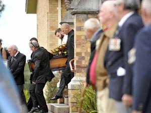 Mateship shines through as Reg Baxter farewelled