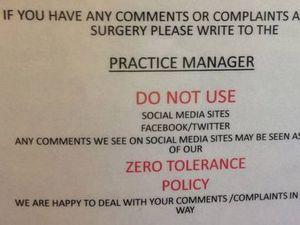 GP social media ban goes viral. Surprise surprise