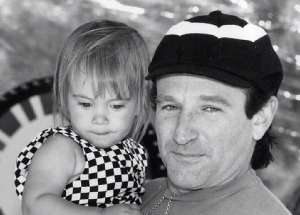 Robin Williams' surviving daughter Zelda celebrated her 25th birthday alongside her father just a week before he was found dead