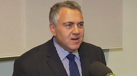 Treasurer Joe Hockey