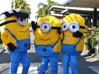 Minions will be roaming around the city centre during Twilight City Street Party.